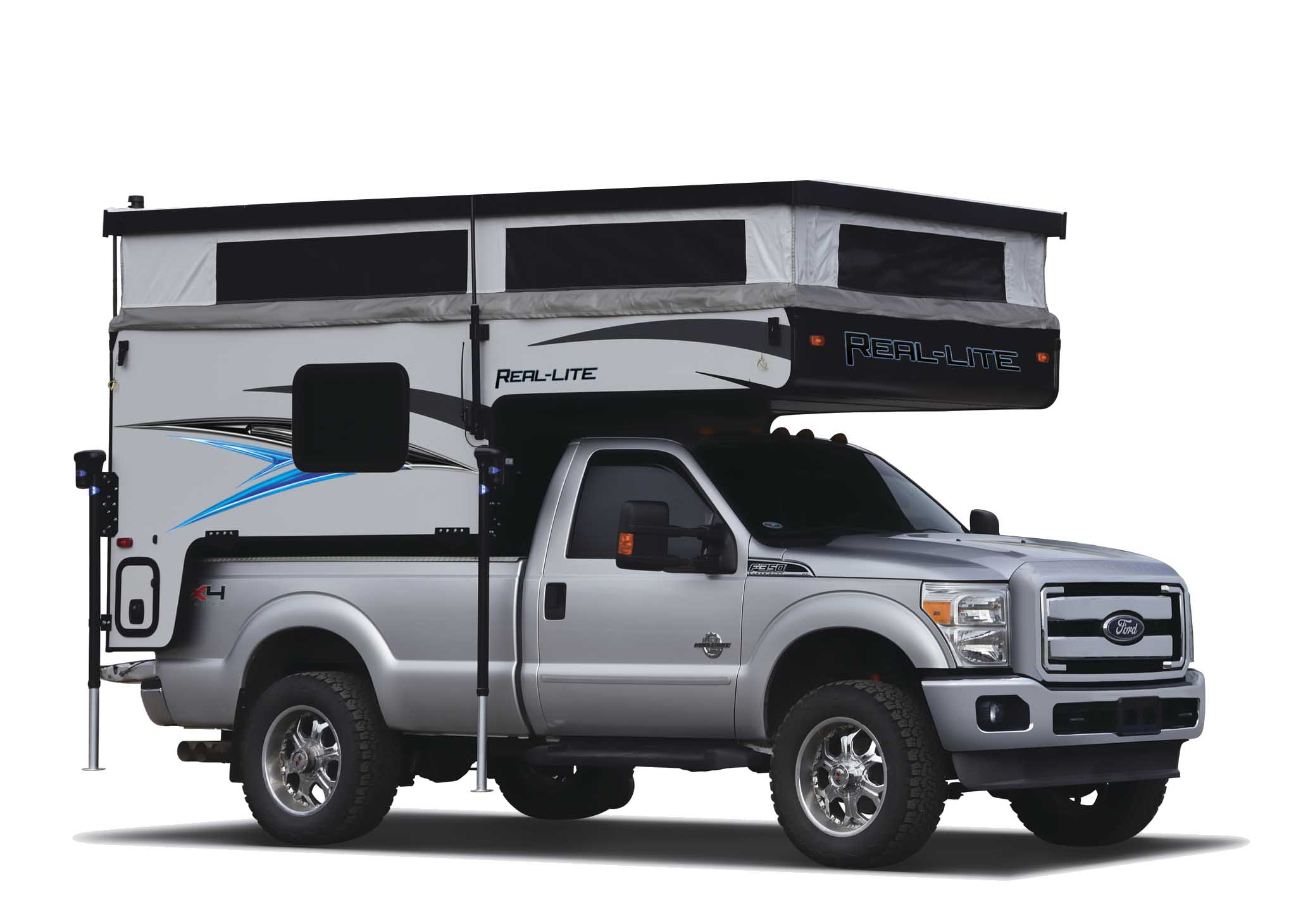 How to lift and close the 2021 Palomino Real Lite Camper - Thumbnail