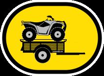 Jumping Jack Explorer 4 x 6 Tent Trailer Logo