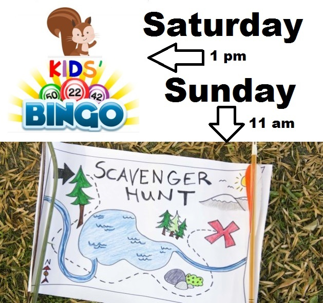 Activities this weekend - Sept. 1 & 2, 2018 - Thumbnail