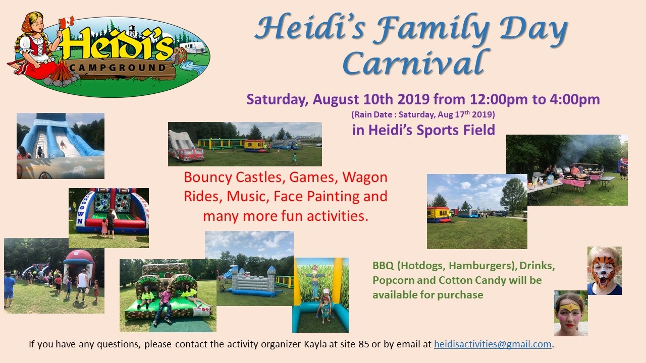 Featured image for Activities This Weekend - August 10/19