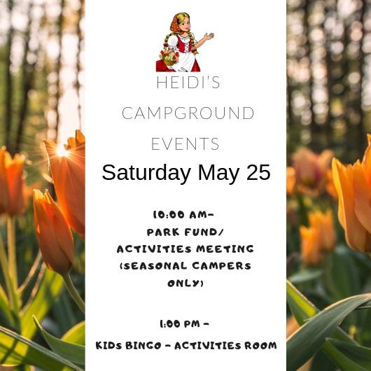 Activities This Weekend - May 25/19 - Thumbnail