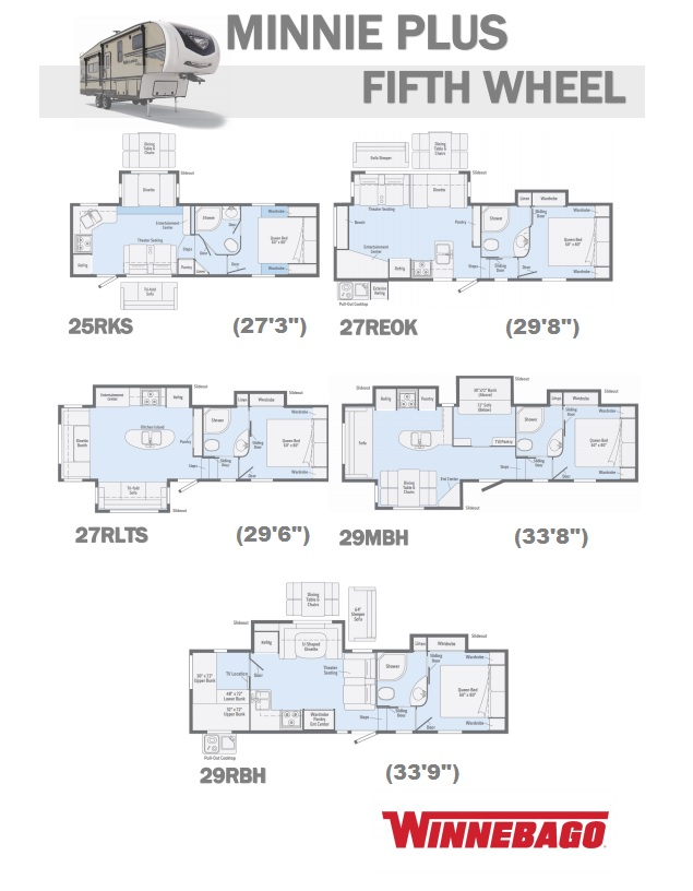 2019 Minnie Plus 5th Floor plans