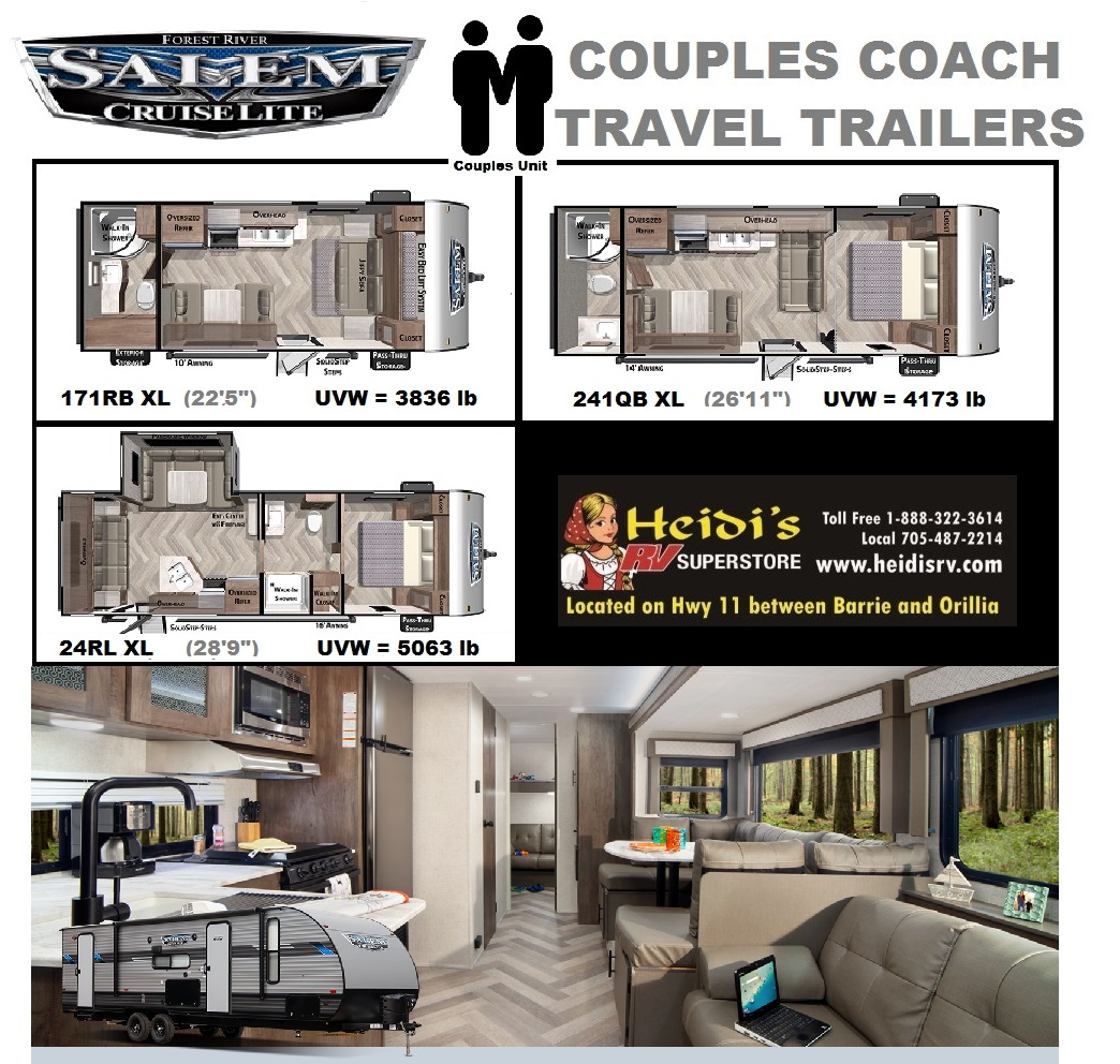 2020 Salem Cruise Lite Couples Models