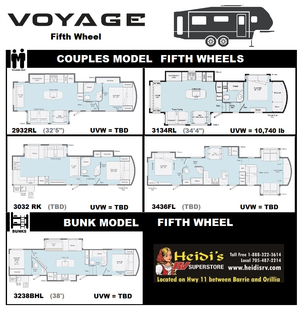 2020 VOYAGE FLOOR PLANS