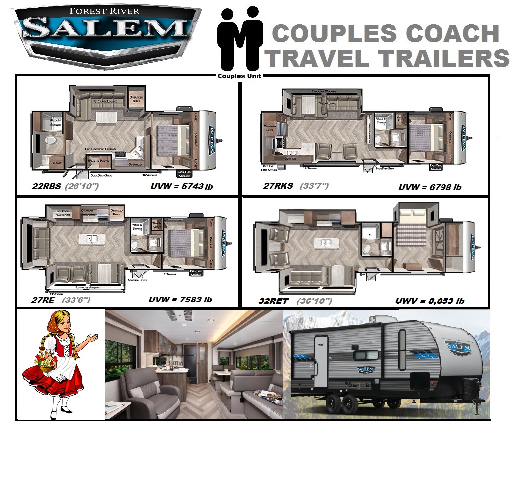2021 Salem Couples Model Units