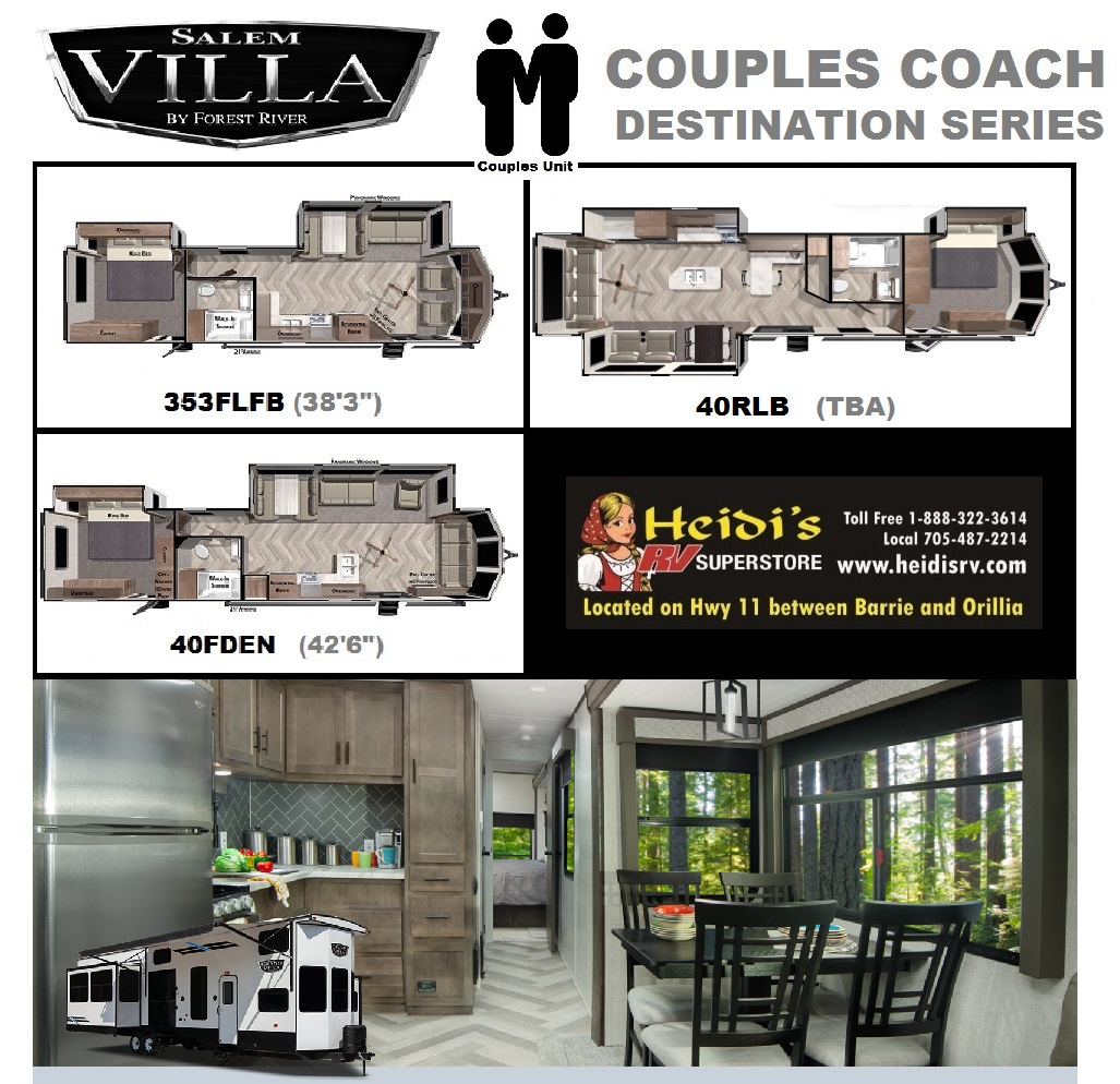 2021 Salem Villa Couples Model Units