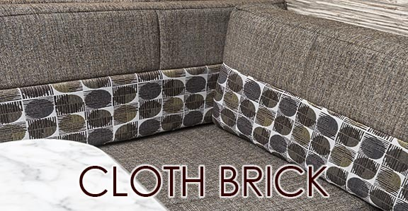 CLOTH BRICK DECOR