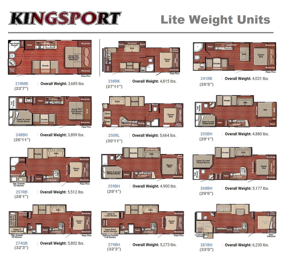 Kingsport Lite weight floor plan