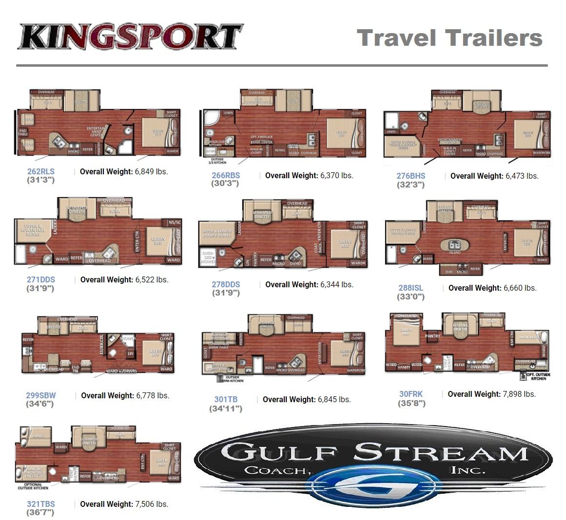 Kingsport floor plans