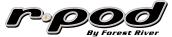RPod Travel Trailer Logo