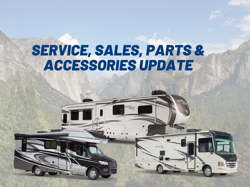Featured image for Yes, We're Open & Ready To Make Your RV Dreams A Reality!