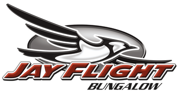 Jay Flight Bungalow Travel Trailer Logo