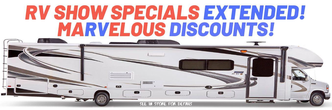 Extended RV Show Deals - Slide Image