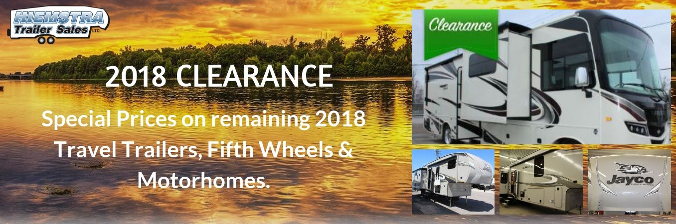2018 Clearance  - Slide Image