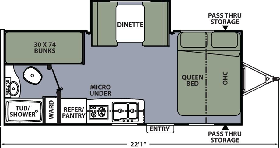 193BHS Floorplan Image