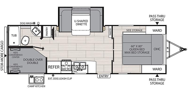 2549BHX Floorplan Image