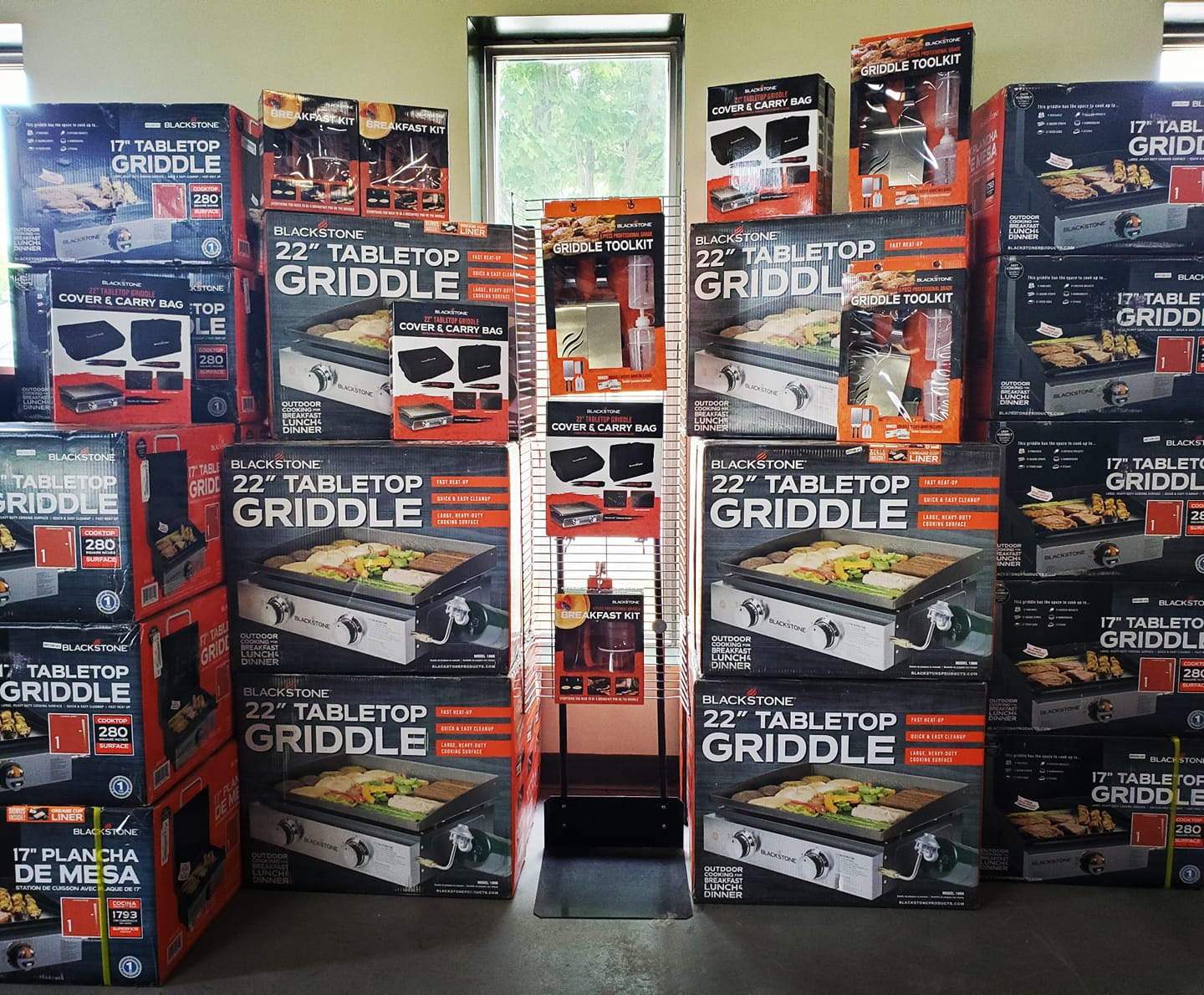 Post thumbnail for Blackstone Griddles and Accessories are IN!