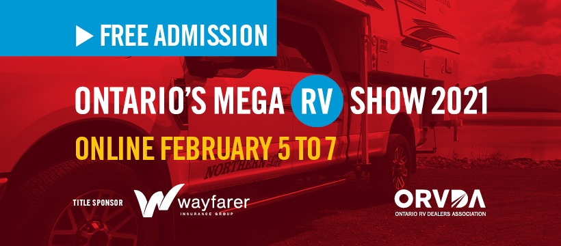 Post thumbnail for Ontario's Mega RV Show 2021