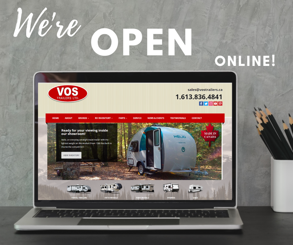Featured image for Shop our Parts Catalog and RV Inventory Online!