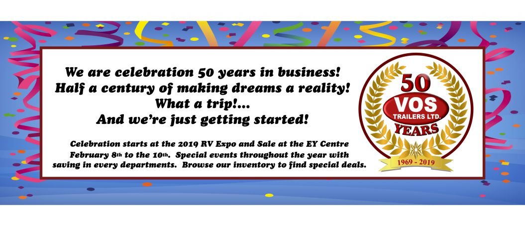 Celebrating 50 years in business! - Slide Image