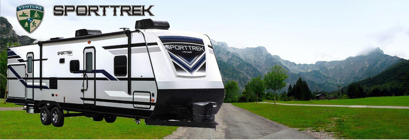 Newly Redesigned Sporttrek! - Slide Image
