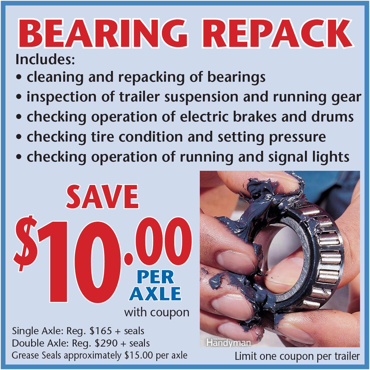 Bearing Repack