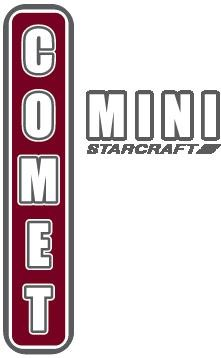 Comet Mini Travel Trailer Logo