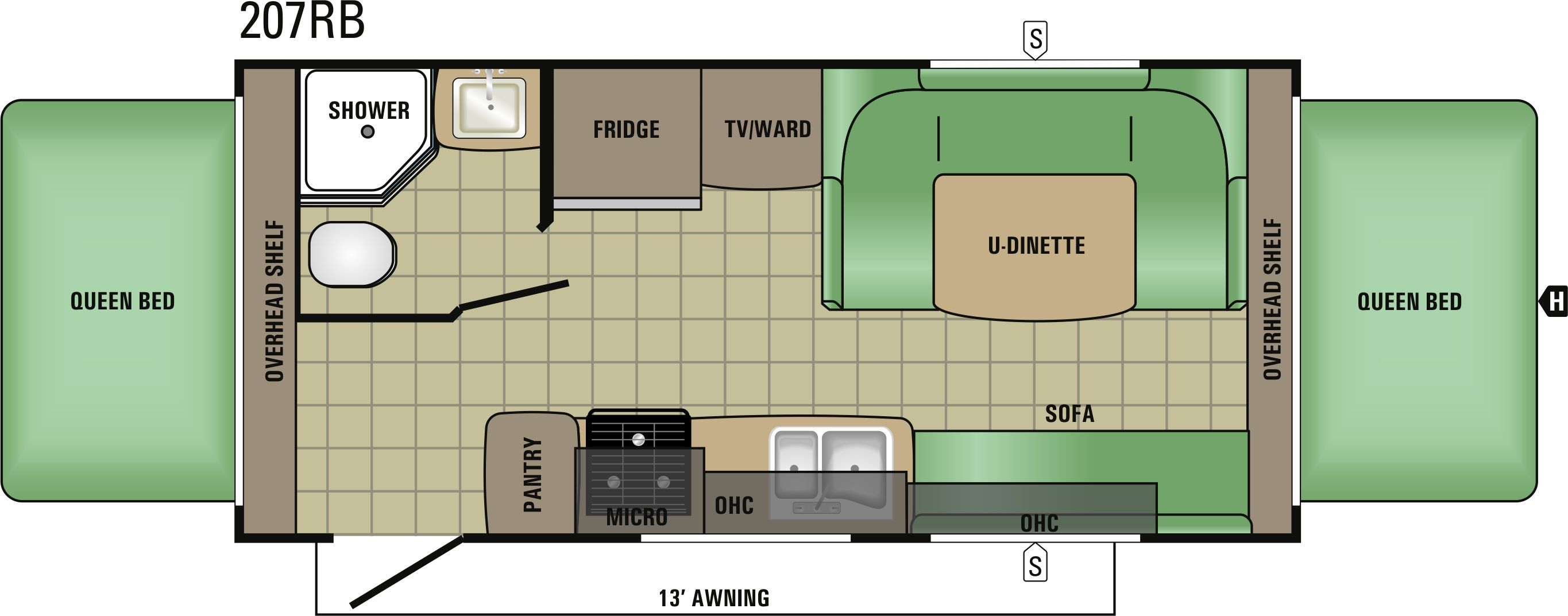 207RB Floorplan