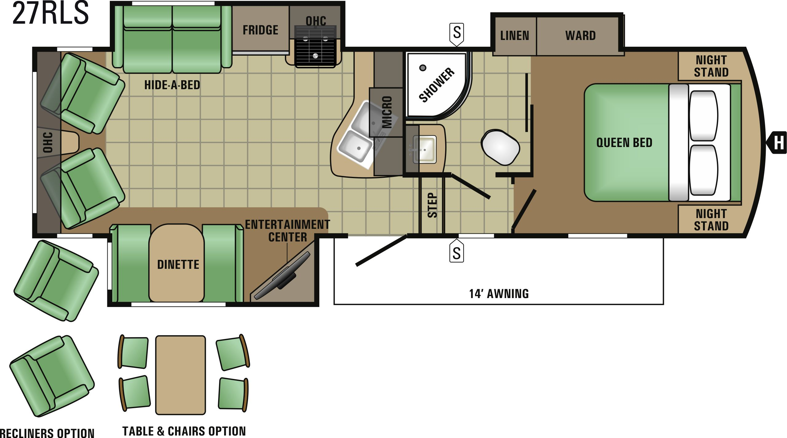 27RLS Floorplan