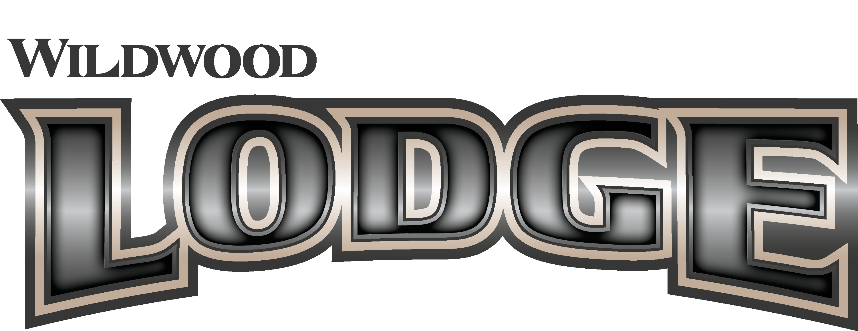 Wildwood Lodge Destination Trailer Logo