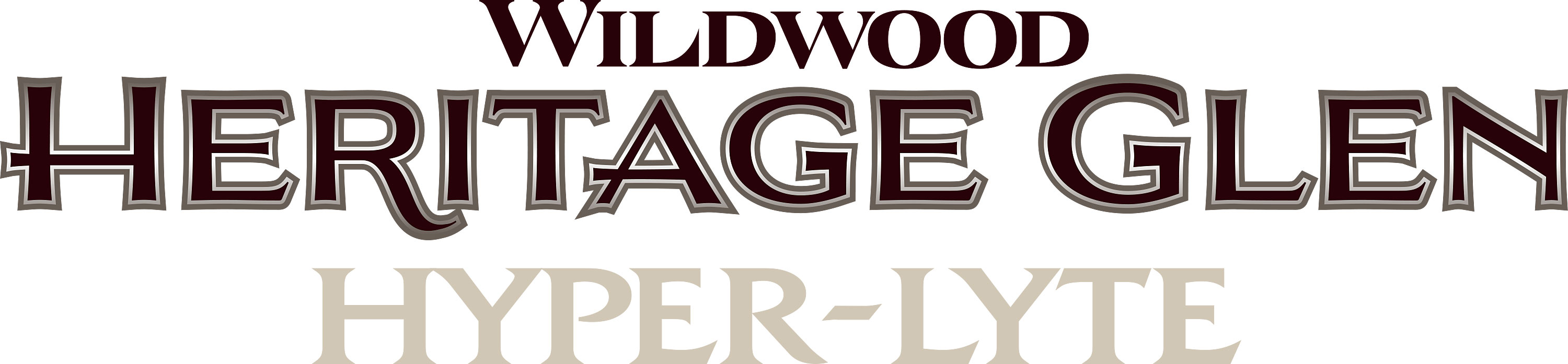 Wildwood Heritage Glen Hyper Lyte Travel Trailer Logo