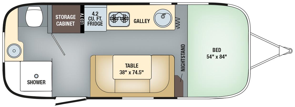 Sport 22FB Floorplan