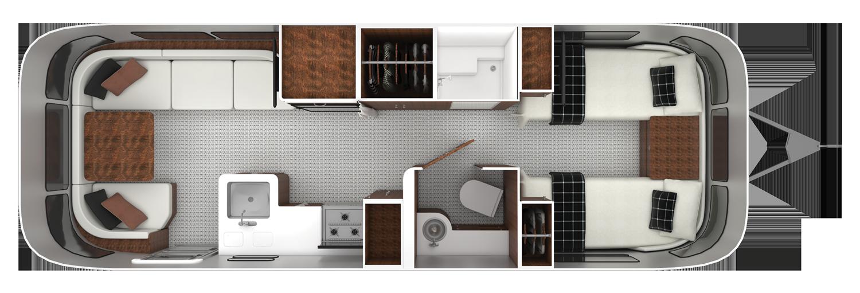 27FB Twin Floorplan
