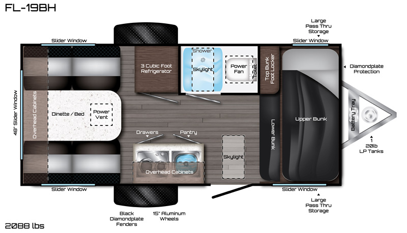 F-19BH Floorplan