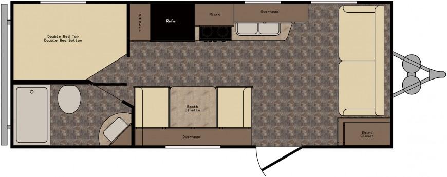 ZT208FL Floorplan