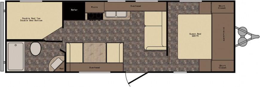 ZT252BH Floorplan
