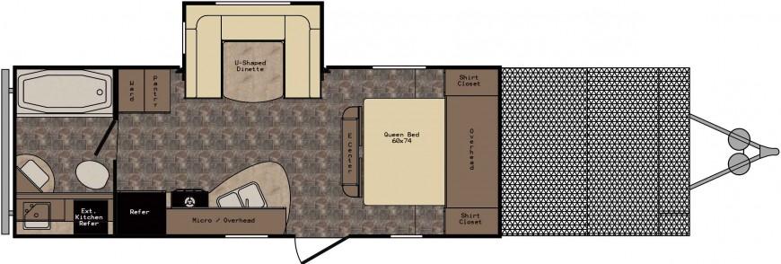 ZT225TD Floorplan