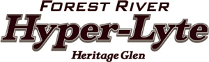Wildwood Heritage Glen Hyper Lyte Fifth Wheel Logo