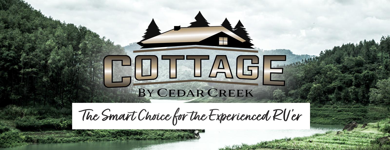 CEDAR CREEK COTTAGE Park Model Logo