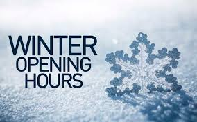 Featured image for New Winter Hours