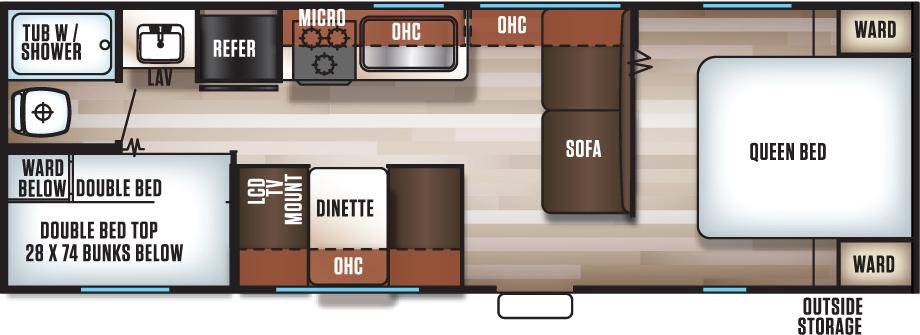 26BHSE - Floorplan