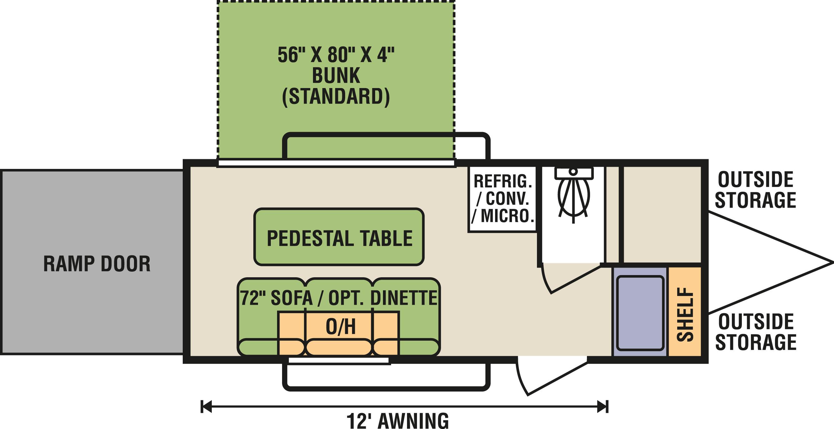6x15 - Floorplan