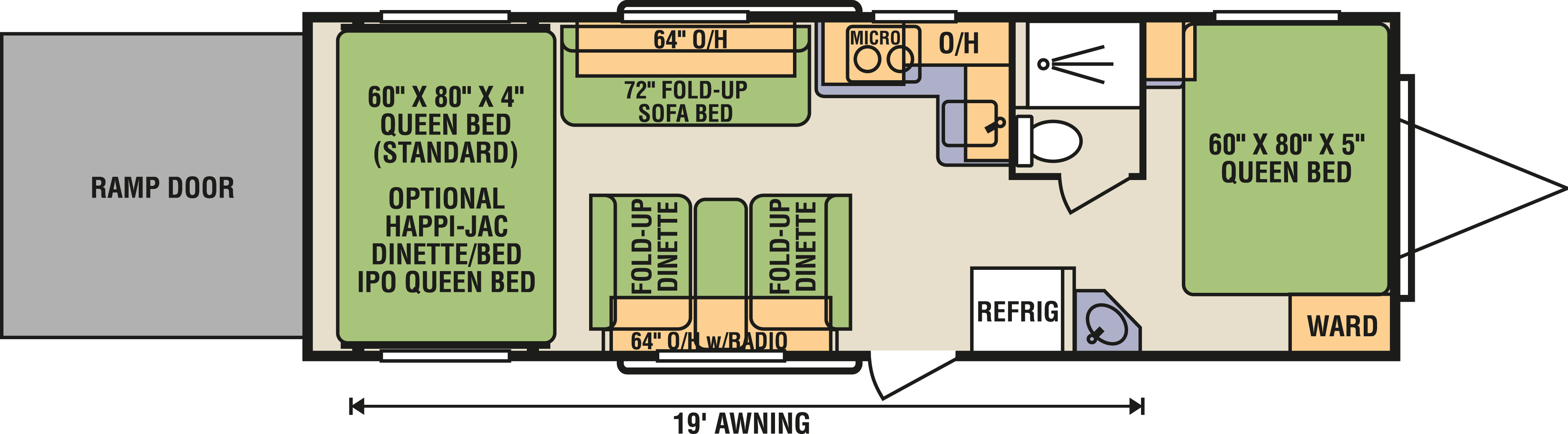 8.5x26FBR - Floorplan