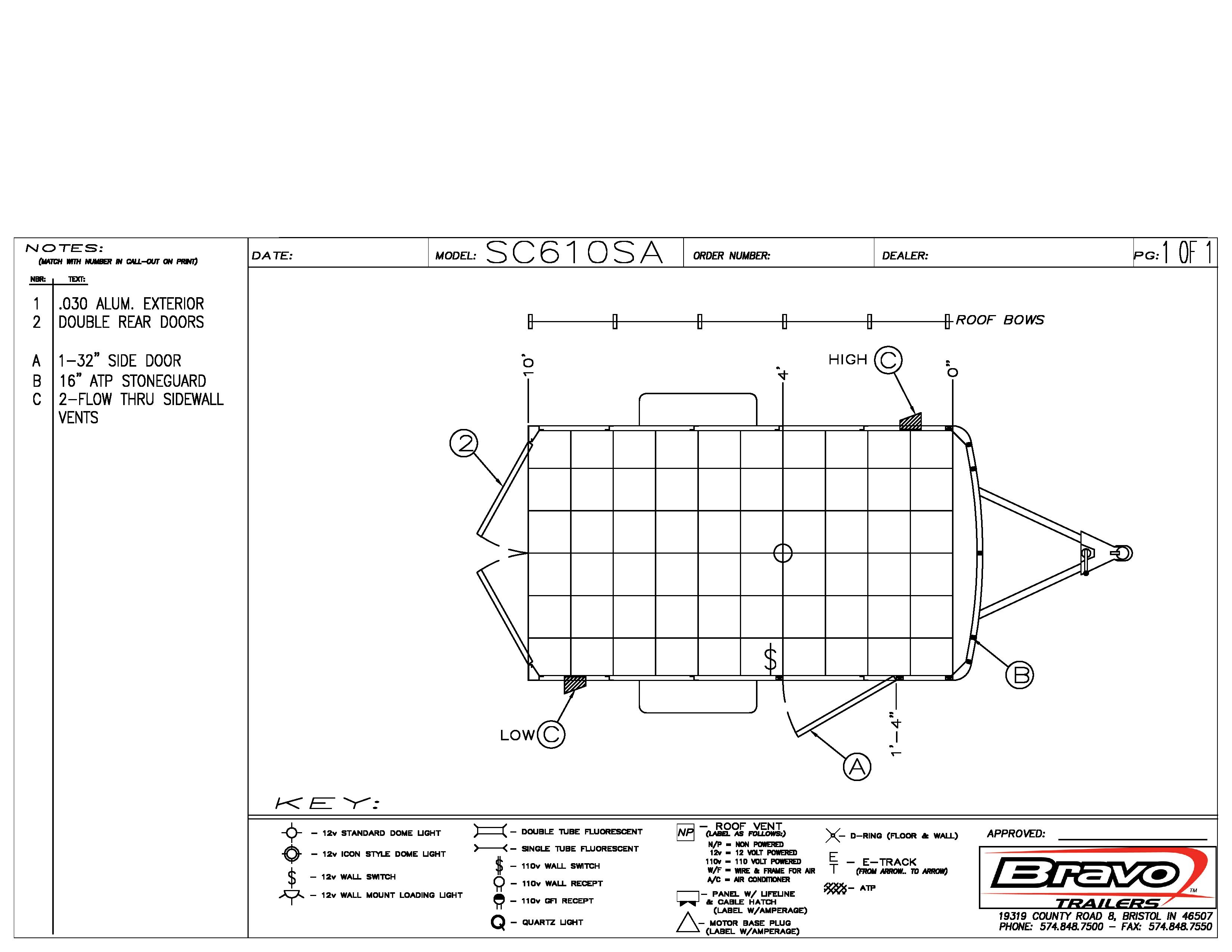 6X10 - Floorplan