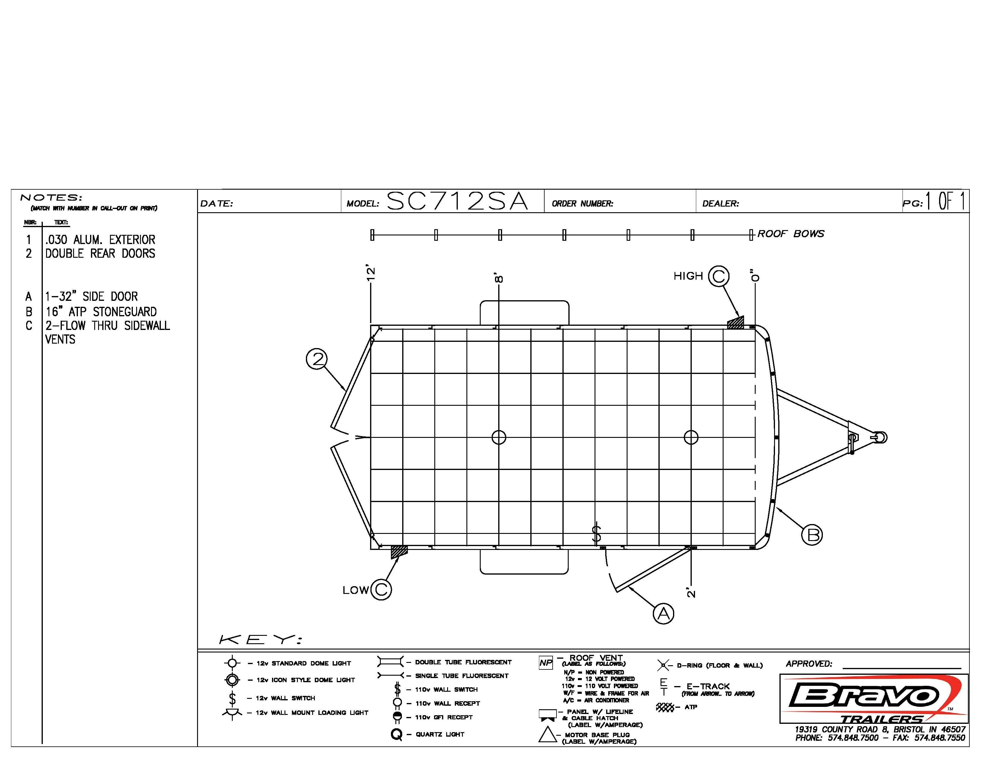 7X12 - Floorplan