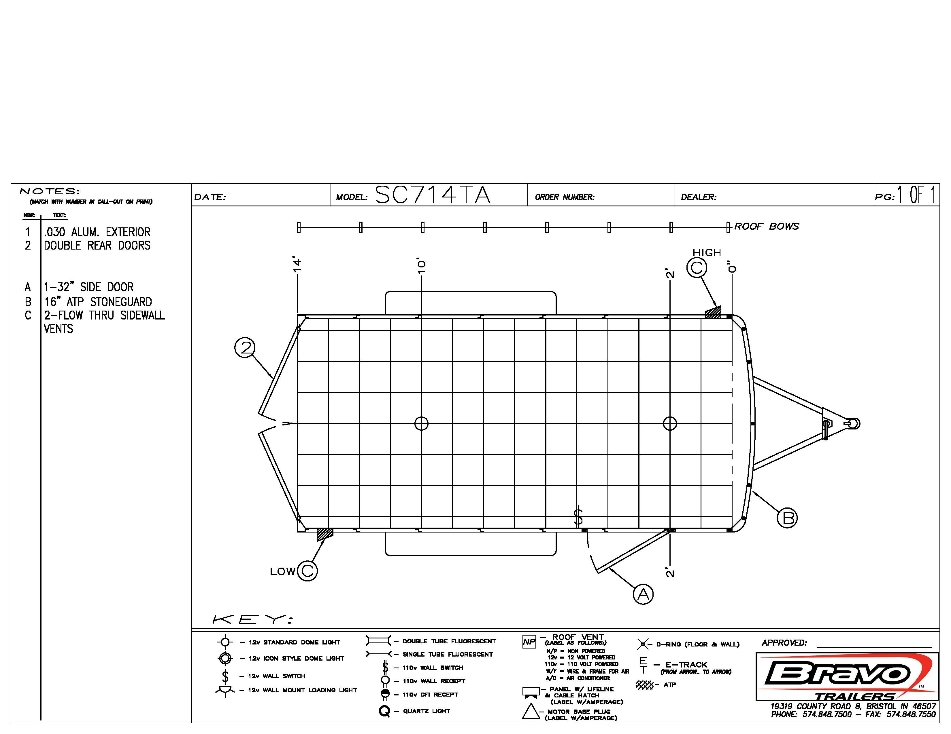 7X14 - Floorplan