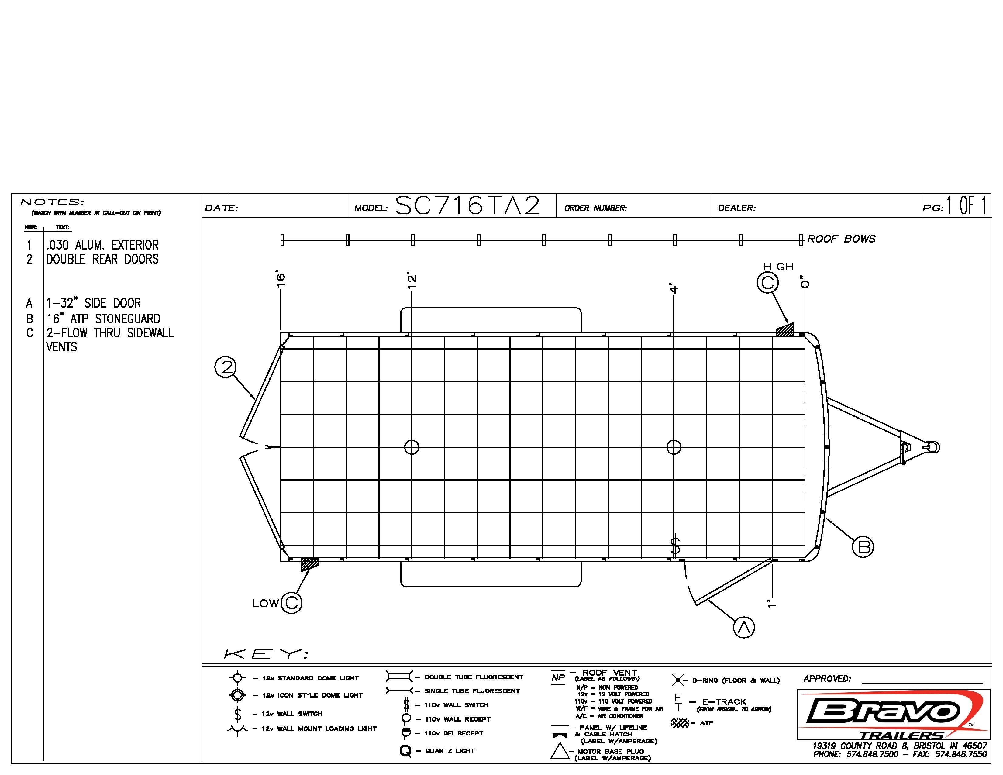 7X16 - Floorplan
