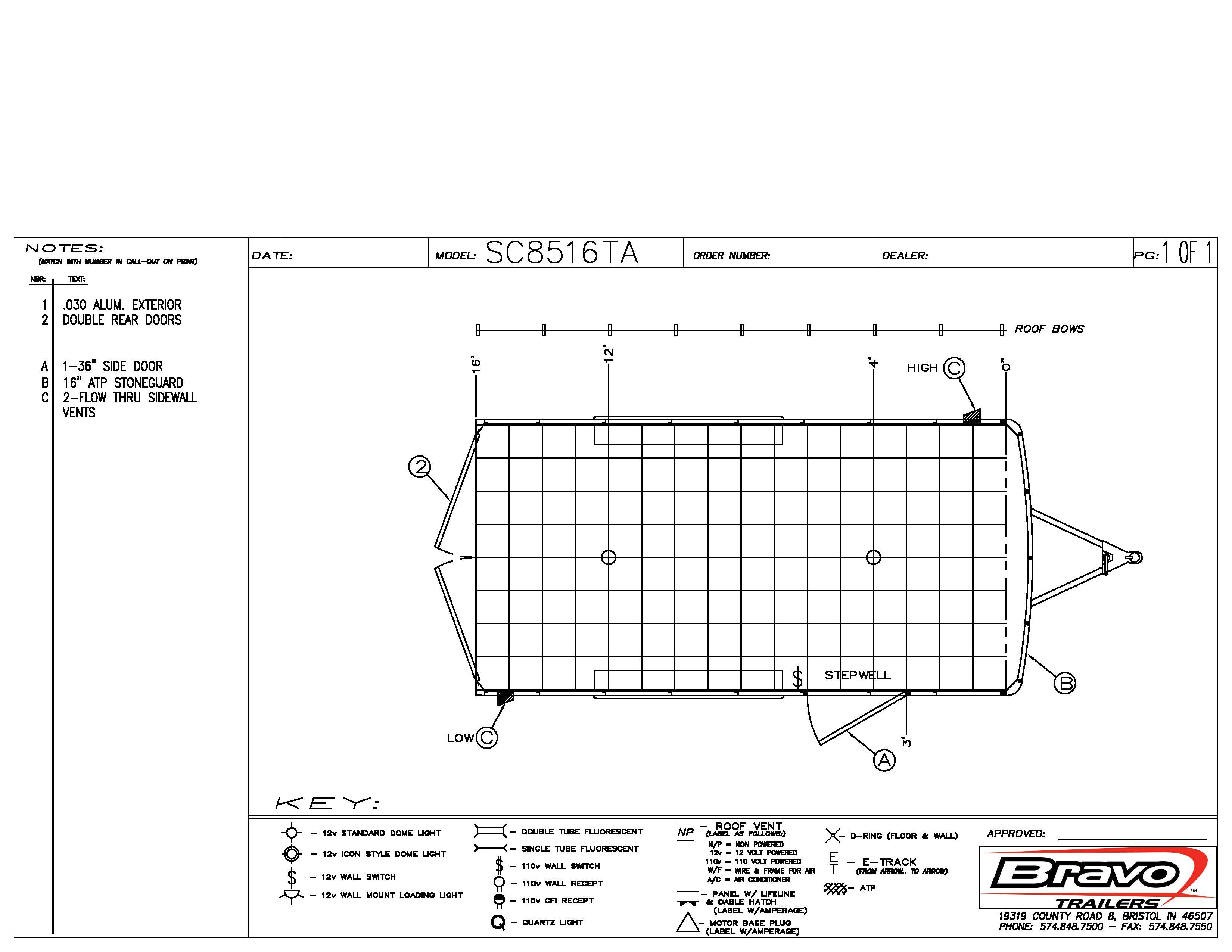 8.5X16 - Floorplan