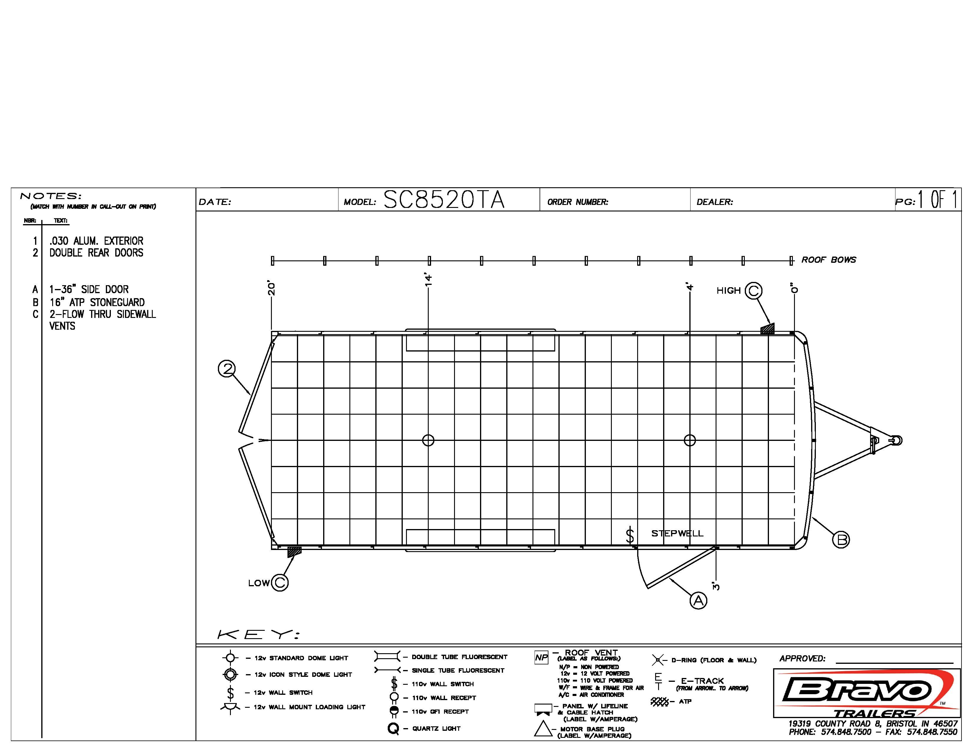 8.5X20 - Floorplan