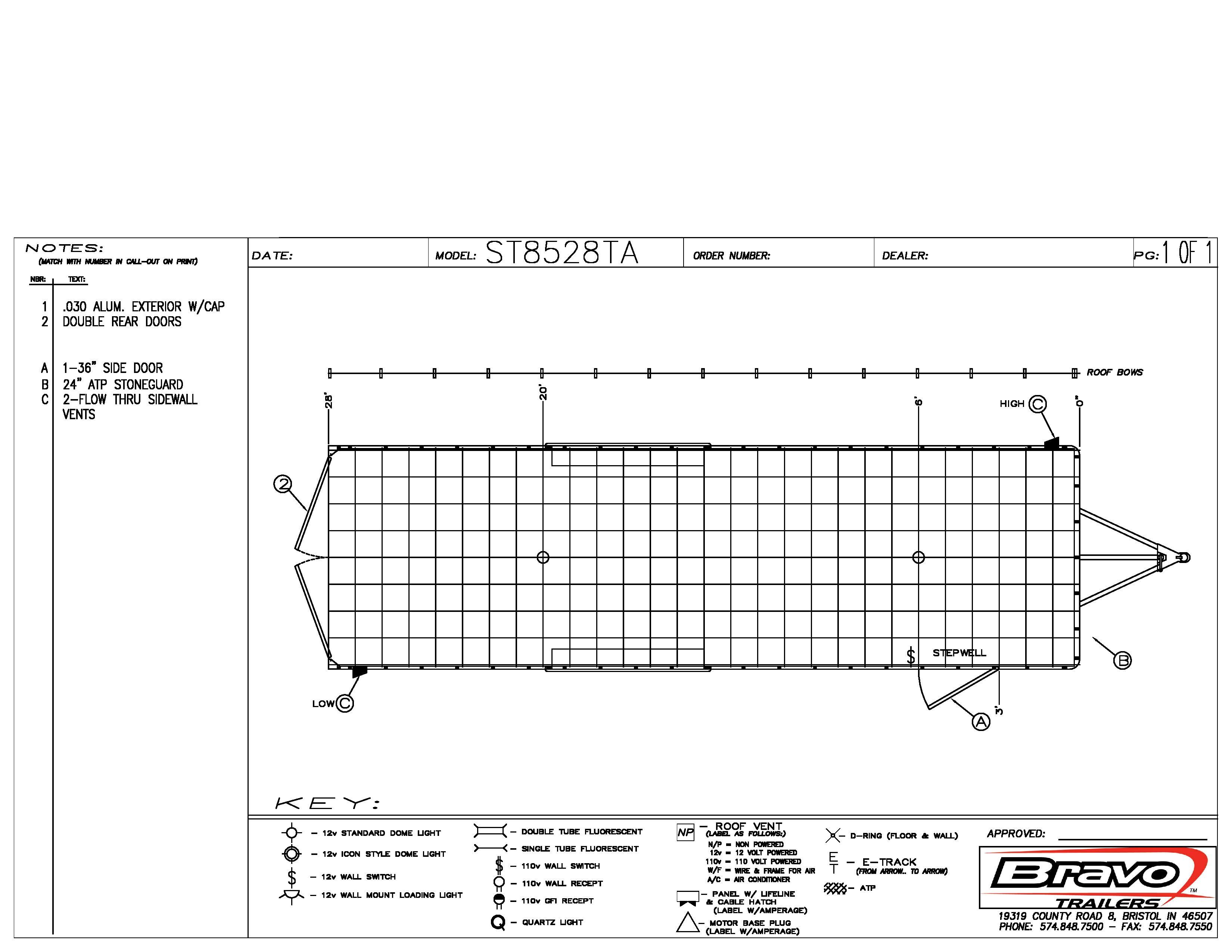 8.5X28 - Floorplan